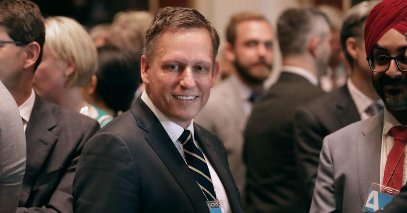 Peter Thiel to znany inwestor i miliarder