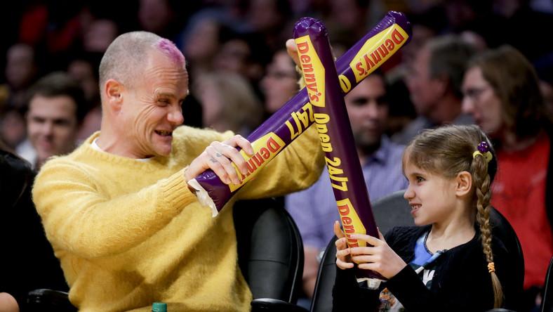 Flea z córką Sunny Bebop Balzary