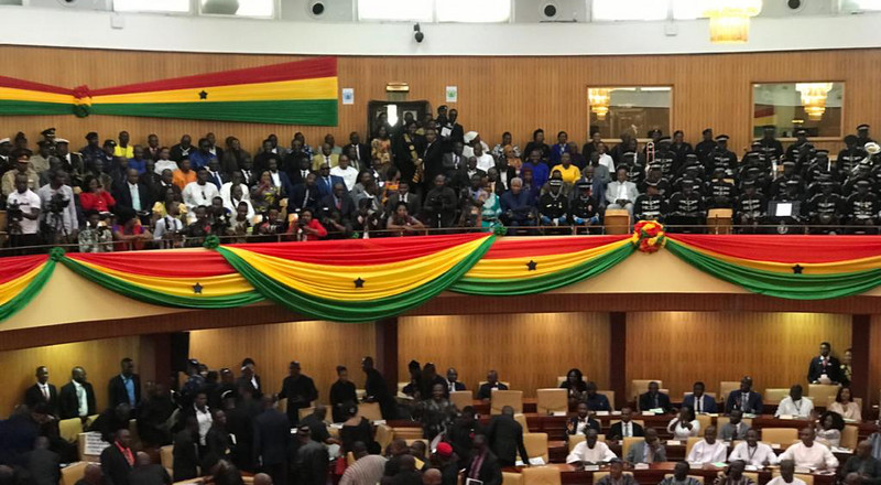 SONA 2020: Minority walks out of Akufo-Addo's 4th State of the Nation Address