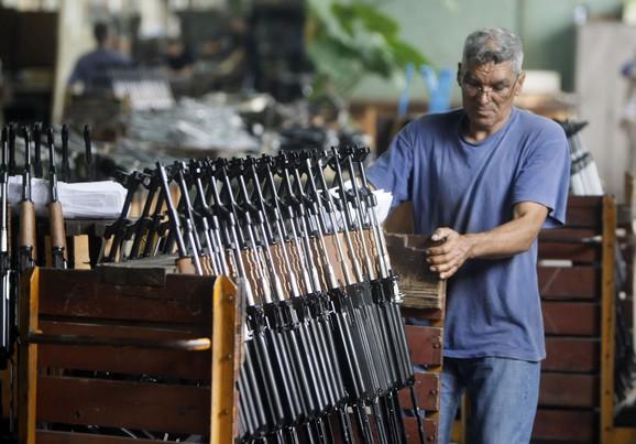Oružje iz Srbije stiže na Bliski istok, ali i u Belgiju, Italiju, na Kipar