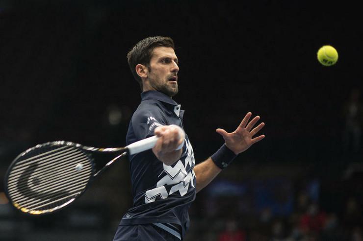 Novak Đoković na mastersu u Beču
