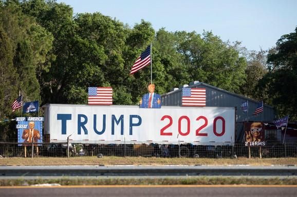 Podrška Trampu u ključnoj državi - Floridi