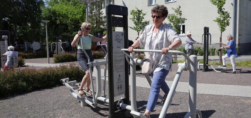 Centrum Seniora w Łodzi powstało przy ulicy Rzgowskiej. Jest siłownia, Nordic Walking i brydż