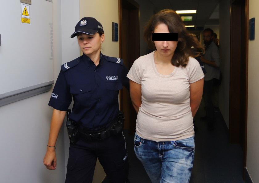 Aneta P. jest oskarżona o dzieciobójstwo