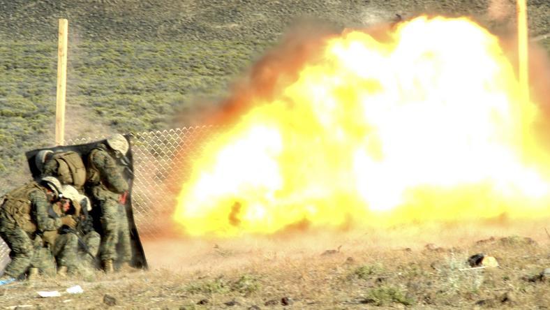 Ćwiczenia żołnierzy USA, fot. Reuters
