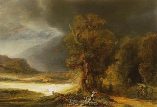 Słynny obraz Rembrandta na wystawie w Łazienkach Królewskich