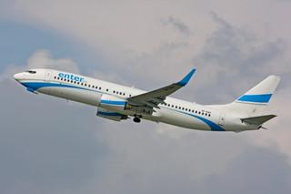 Warszawa: Samolot pasażerski zderzył się z ptakiem. Pilot krąży nad miastem