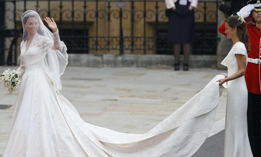 Wystawią suknię ślubną księżnej Kate