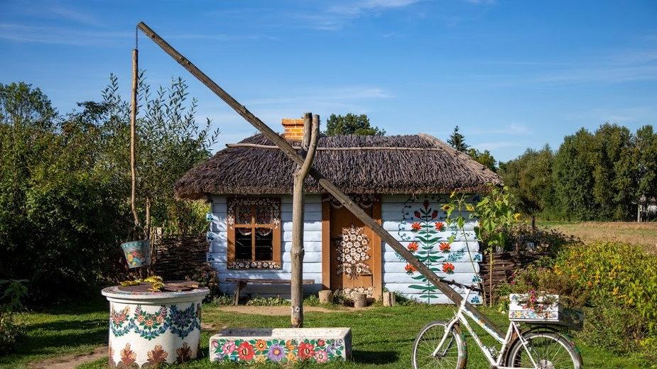 Zalipie - kolorowa wieś