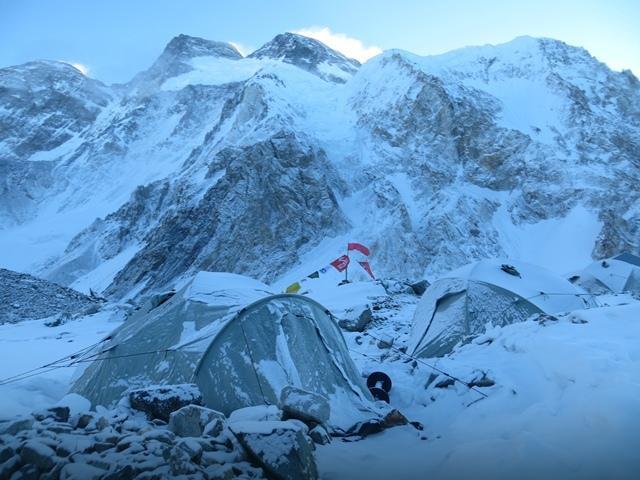 Broad Peak - wyprawa PZA 2013 - baza