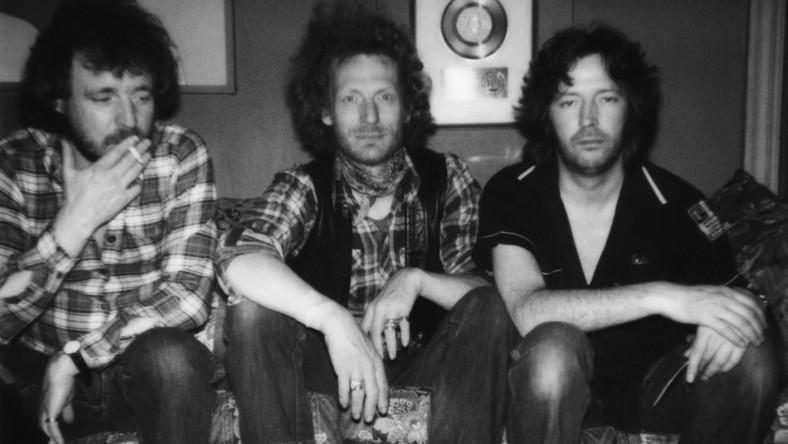 Ginger Baker i muzycy Cream – Jack Bruce i Eric Clapton
