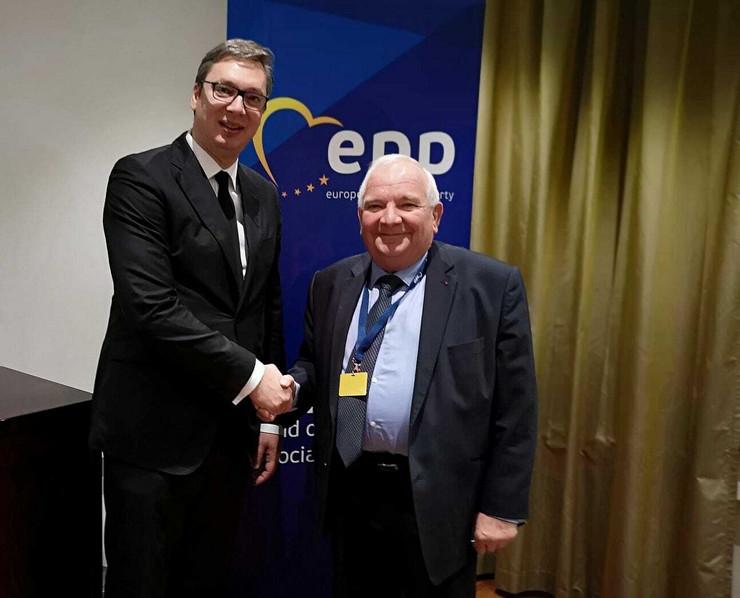 Zozef Dol, predsednik EPP