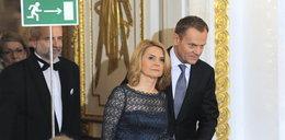 Premier z żoną na rozdaniu Wiktorów