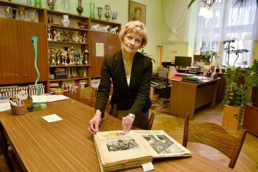 Krystyna Zielińska, dyrektor szkoły
