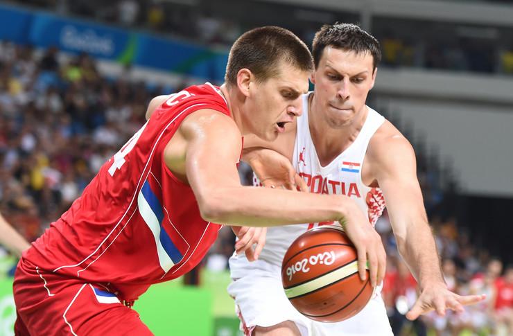 Košarkaška reprezentacija Srbije, Košarkaška reprezentacija Hrvatske