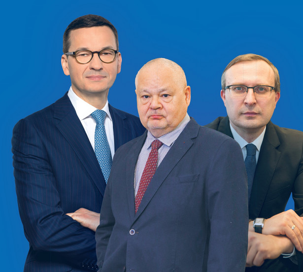 Mateusz Morawiecki, Adam Glapiński, Paweł Borys