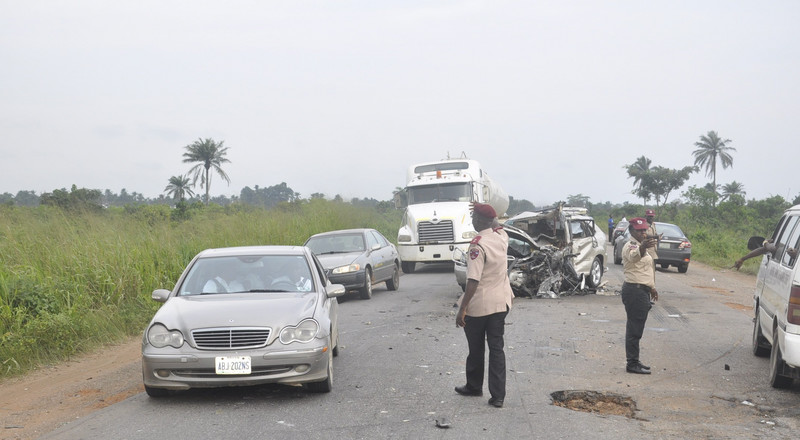 FRSC : '1,083 road crashes involving trailers, tankers recorded in 2019'