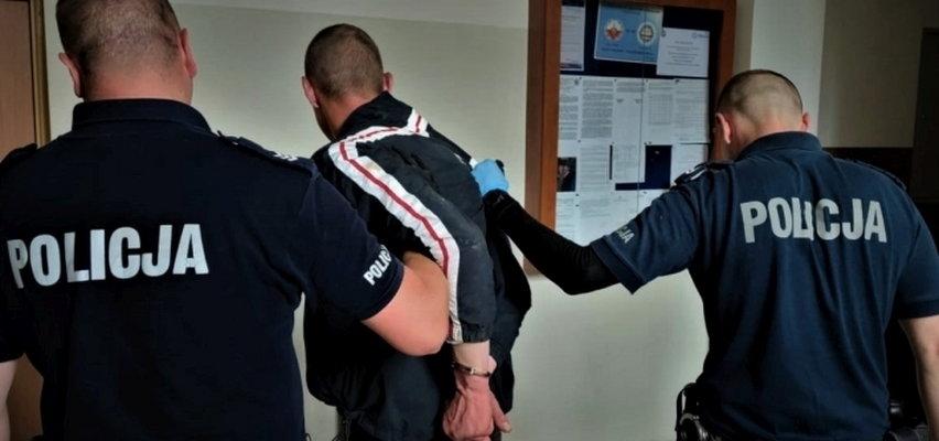 Zatrzymano 32-latka z Bytowa, który pobił i okradł swoich dziadków