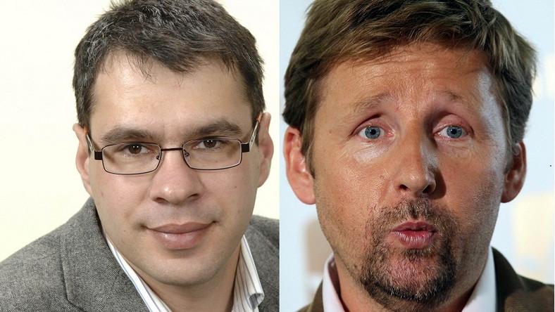 Marek Migalski i Jacek Karnowski