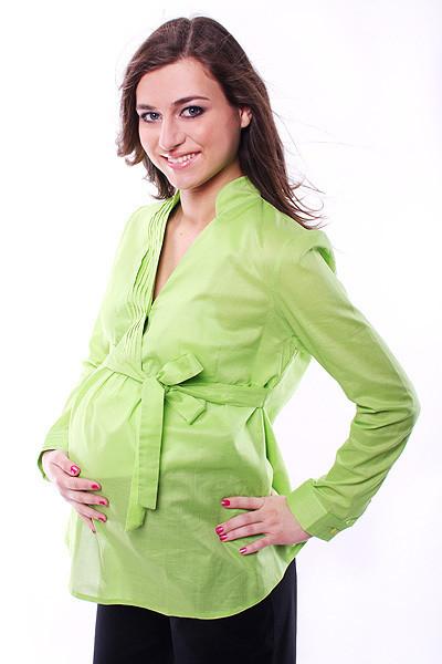 Bluzka wiązana na boku - elegancki komfort w pracy