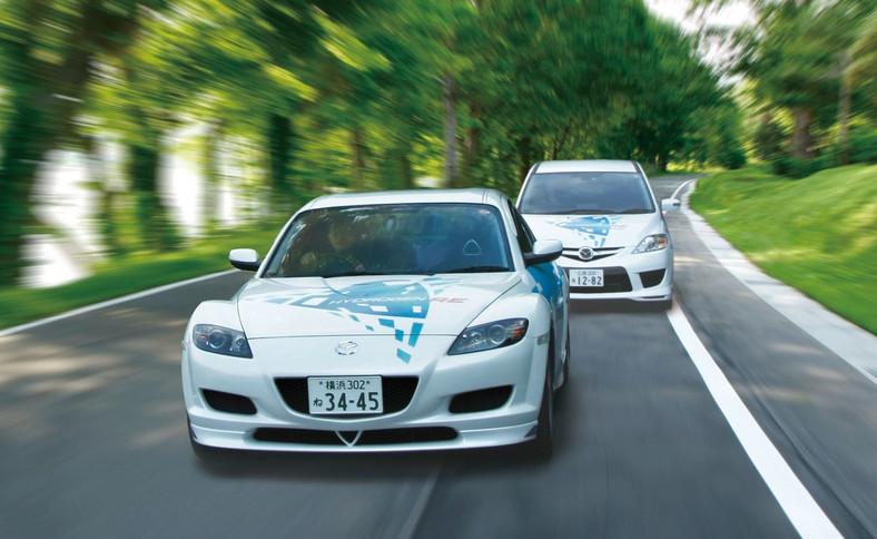 Mazda RX-8 Hydrogen RE i Premacy Hydrogen RE Hybrid