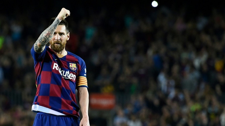 Lionel Messi scored his first goal of the season on Sunday as Barcelona beat Sevilla 4-0 in La Liga.