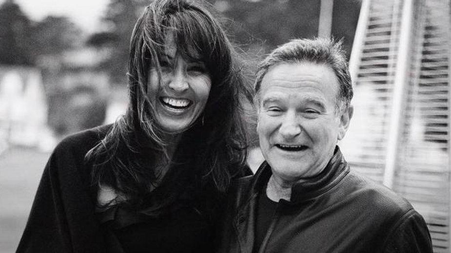 """Robin Williams i Susan Schneider Williams: kadr z filmu """"Dzień dobry, Robin"""""""
