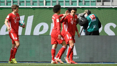 Musiala nets twice as Bayern Munich go seven-points clear