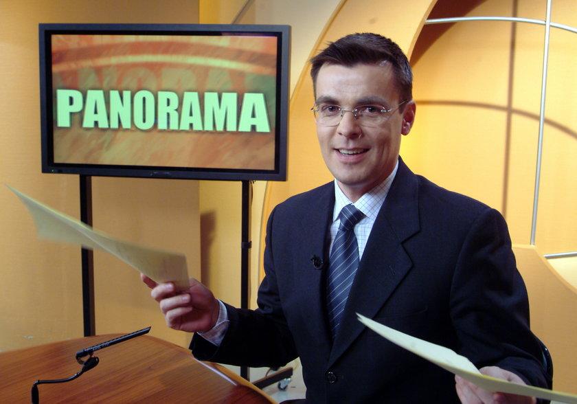 """Poruszające wydanie """"Panoramy"""". Prowadząca nie wytrzymała, mówiąc o zmarłym dziennikarzu"""