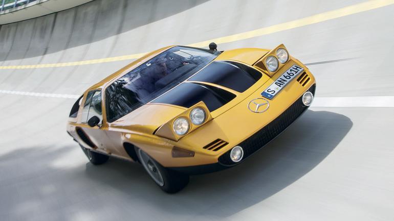 Mercedes C111 - model nieosiągalny