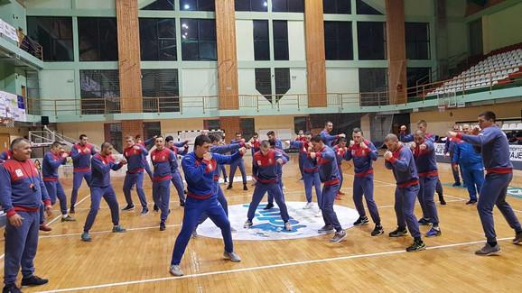 Bokserska reprezentacija Srbije na pripremama na Zlatiboru
