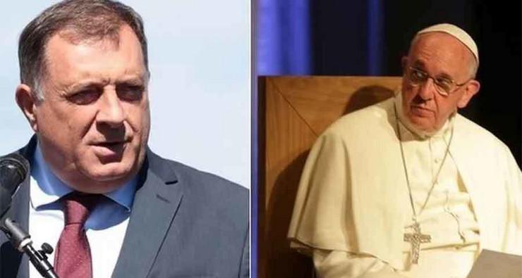 milorad dodik-papa-franjo