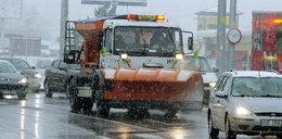 Zima oszczędza drogowców