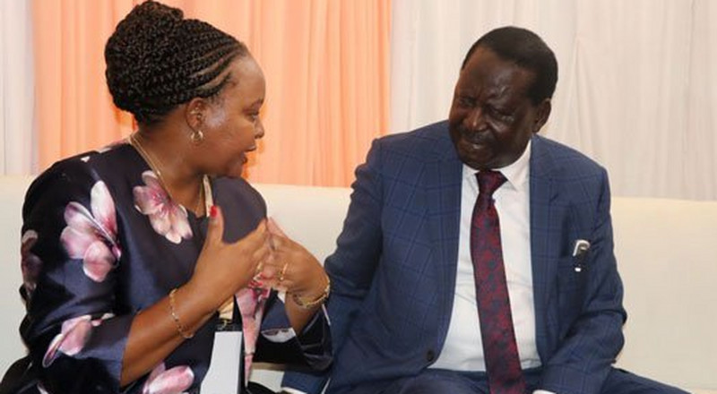 Details of Raila's night meeting with Governor Anne Waiguru