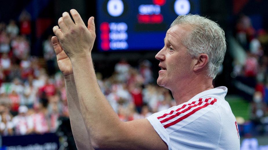 Vital Heynen po wygranej z Serbią