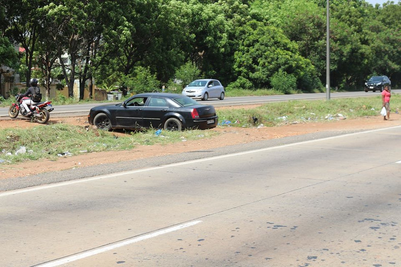 Unapproved routes on Accra-Tema motorway