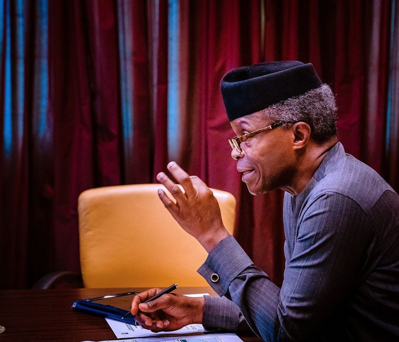 Professor Yemi Osibanjo, Vice President of Nigeria [Instagram/ProfYemiOsibanjo]