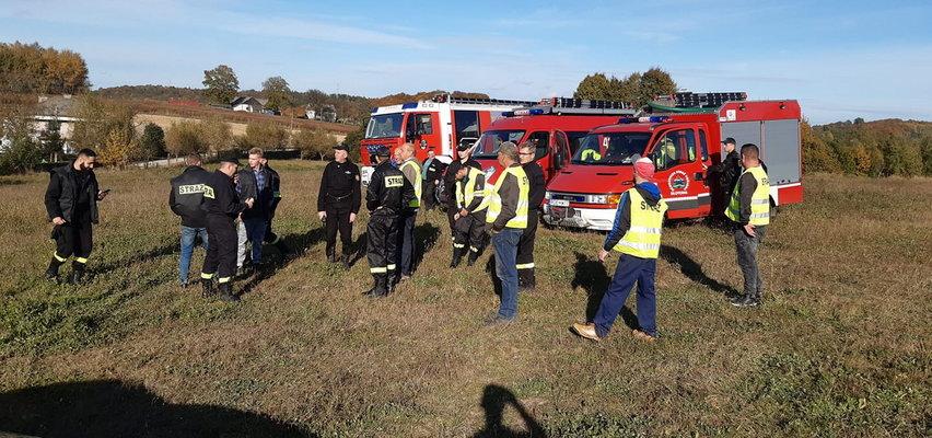 63-latka szukali strażacy, mieszkańcy, nawet sołtys i radny. Tragiczny finał