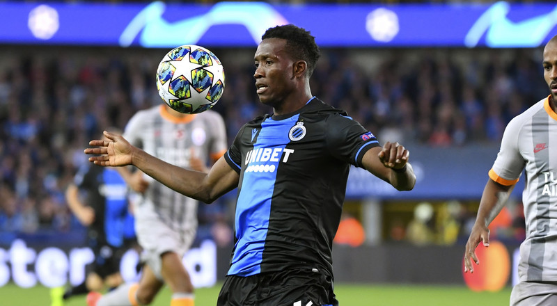 Champions League: Emmanuel Bonaventure and David Okereke fire blank for Club Brugge while Bryan Idowu makes substitute appearance for Lokomotiv