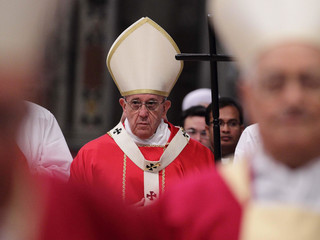 Pope Francis Holy Mass For Souls of Cardinals