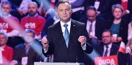Andrzej Duda skomentował gest Lichockiej