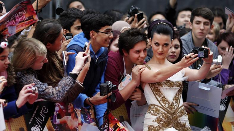 """Katy Perry na premierze """"Katy Perry: Part of Me"""" w Londynie"""