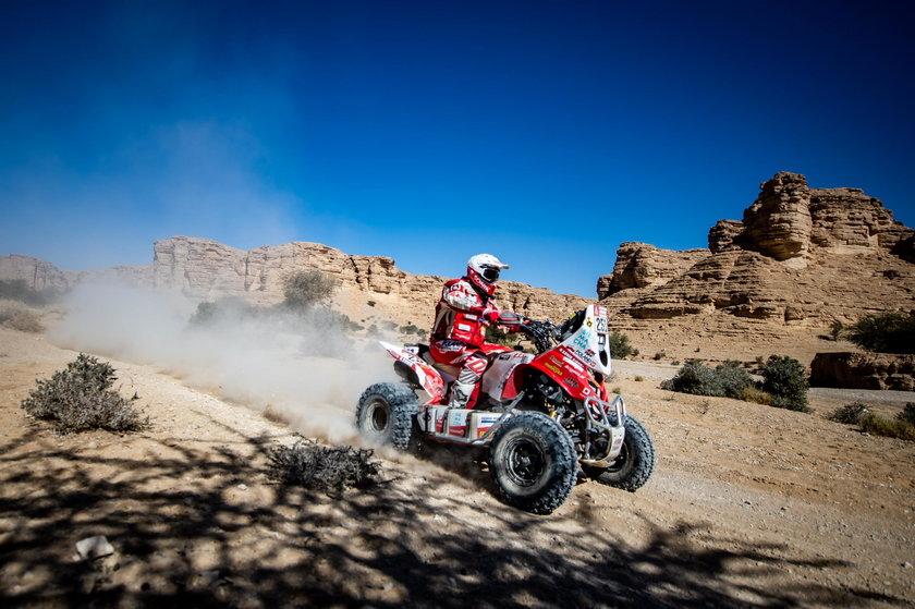 Rafał Sonik trzeci w klasyfikacji końcowej Rajdu Dakar!