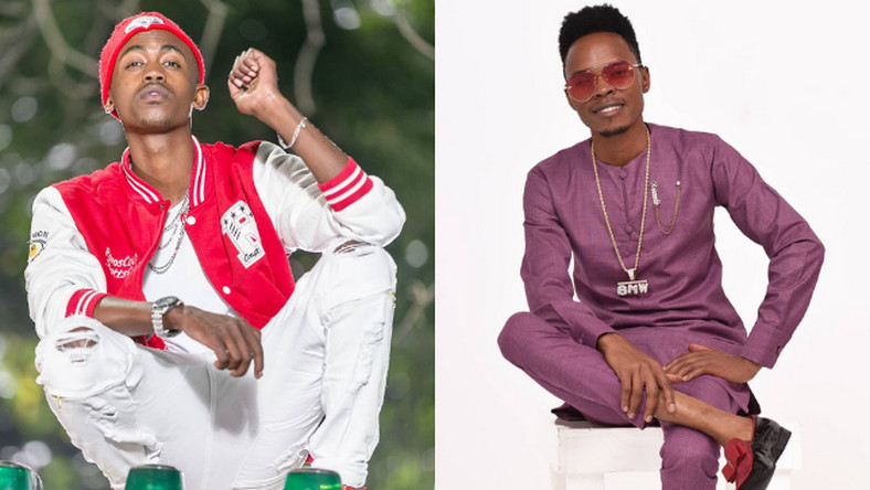 Gospel artists Weezdom and Kasolo in a bitter exchange over Peter Blessing's tribulations