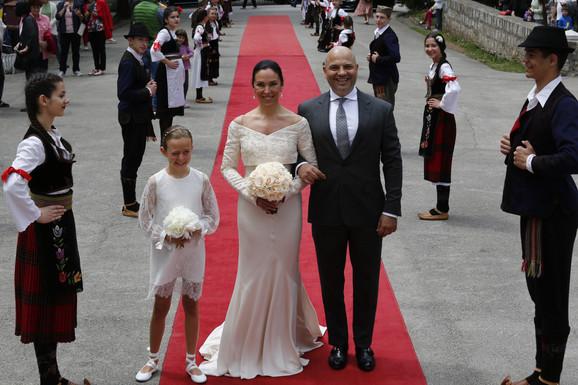 Venčanje princa Dušana Karađorđevića i princeze Valerije Demuzio