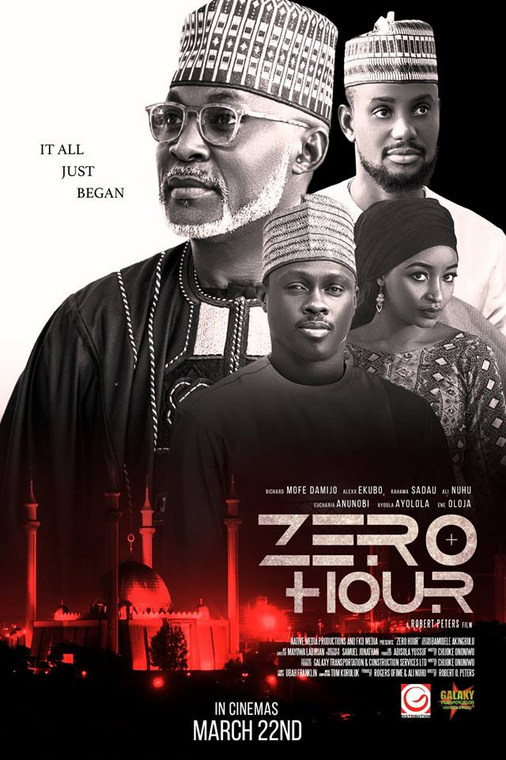 'Zero Hour' features Richard Mofe Damijo, Eucharia Anunobi and Ali Nuhu. [Instagram]