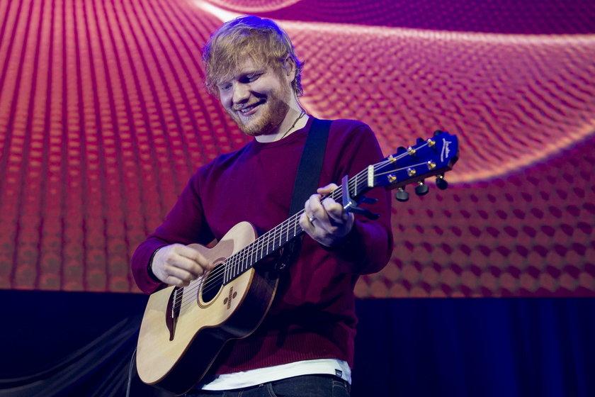 Ed Sheeran znowu odwiedził Polskę