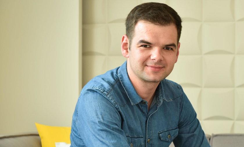 Damian Łodziana (32 l.) oddaje krew od 14 lat.