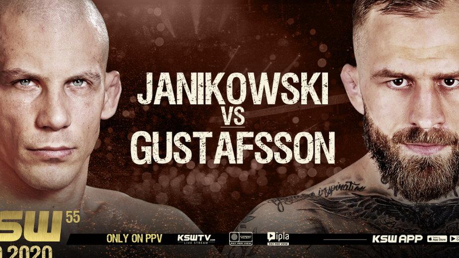 KSW 55: Janikowski - Gustafsson