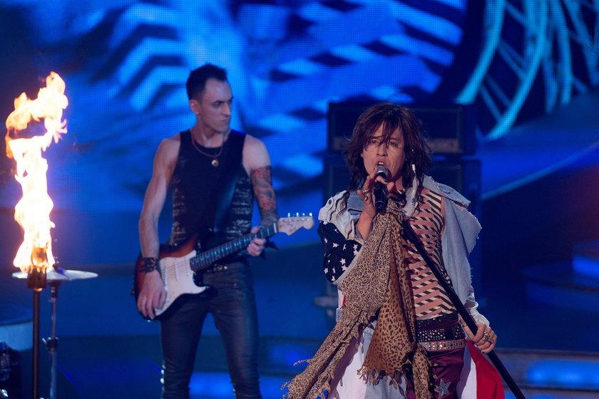 """Matti Jakubiec - Steven Tyler - Aerosmith - """"I dont want to miss a thing"""" w """"Twoja twarz brzmi znajomo"""""""